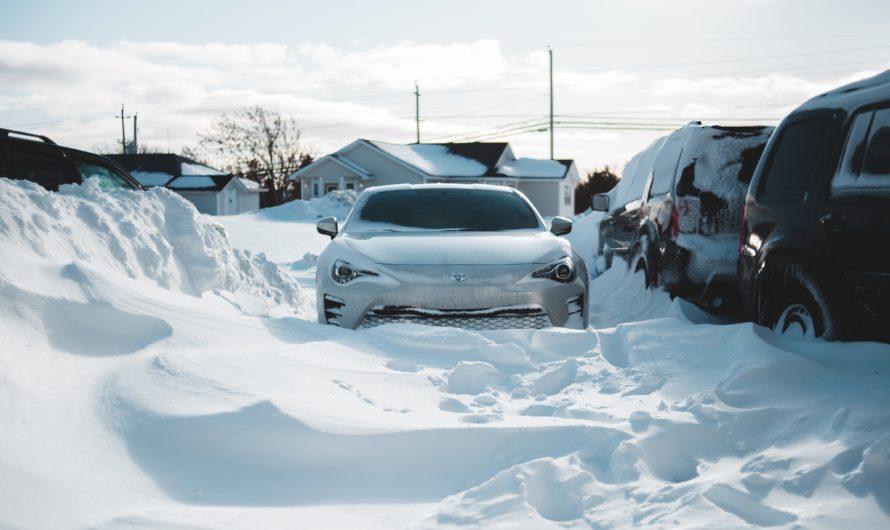 Cinq excellentes façons de garder vos véhicules en parfait état pendant l'hiver
