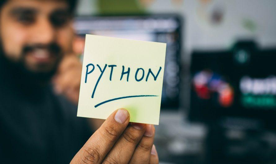 Les raisons d'apprendre Python en 2020